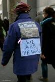 Telling the world: they won't kill fredom